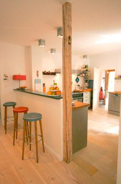 Tresen in der Kche  Kchenideen  Kche Haus kchen und Offene kche wohnzimmer