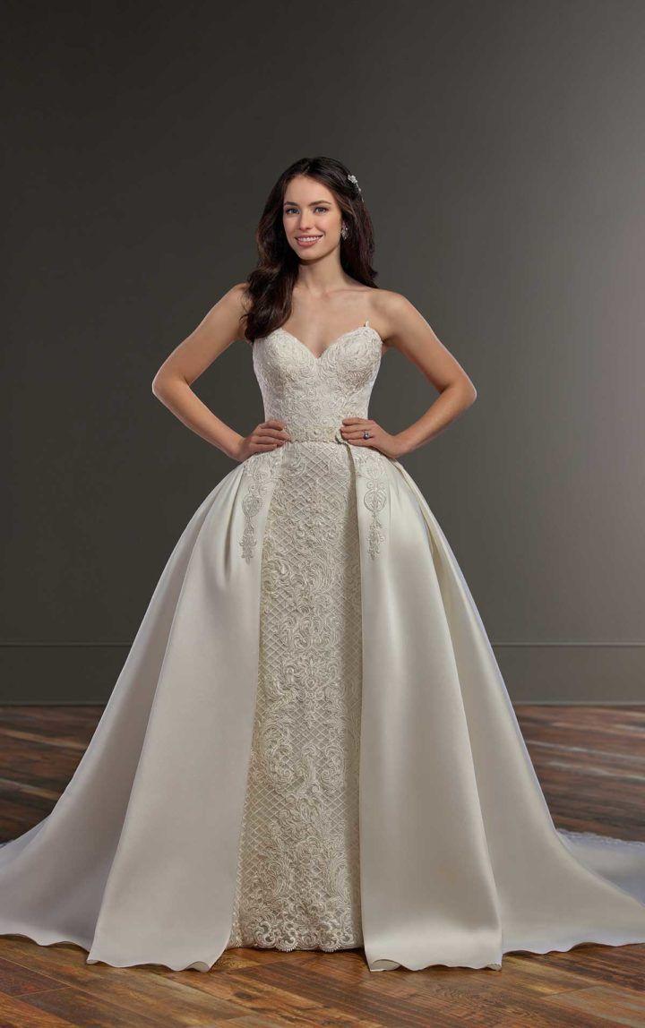 61ff6c8040 Elegantly Romantic Spring 2018 Martina Liana Wedding Dresses ...