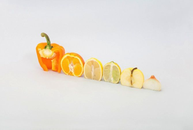 A colourful winter by Florent Tanet #photography #fruits #vegetables #army
