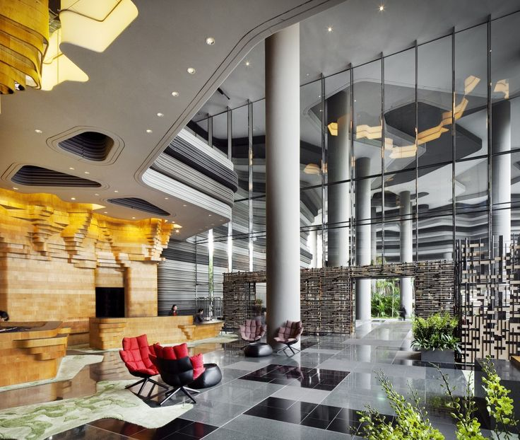 PARKROYAL on Pickering   Architects: WOHA   Location: Singapore, Singapore   Photographs: Patrick Bingham-Hall