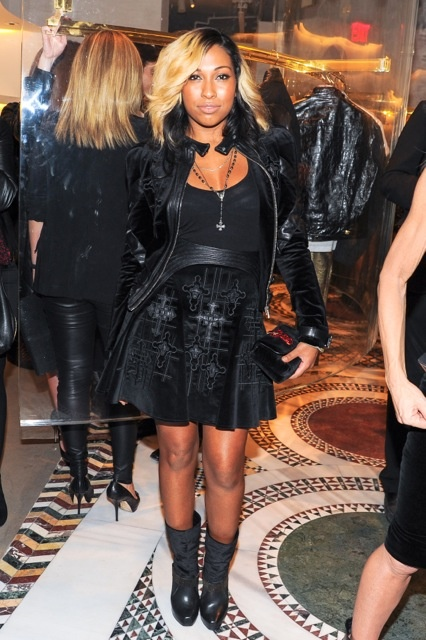 VERSACE BOUTIQUE OPENING COCKTAIL PARTY IN SOHO - NEW YORK