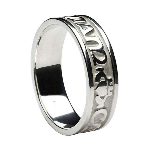 comfort unisex aoife ring soulmate rings ltd band celtic wedding fit