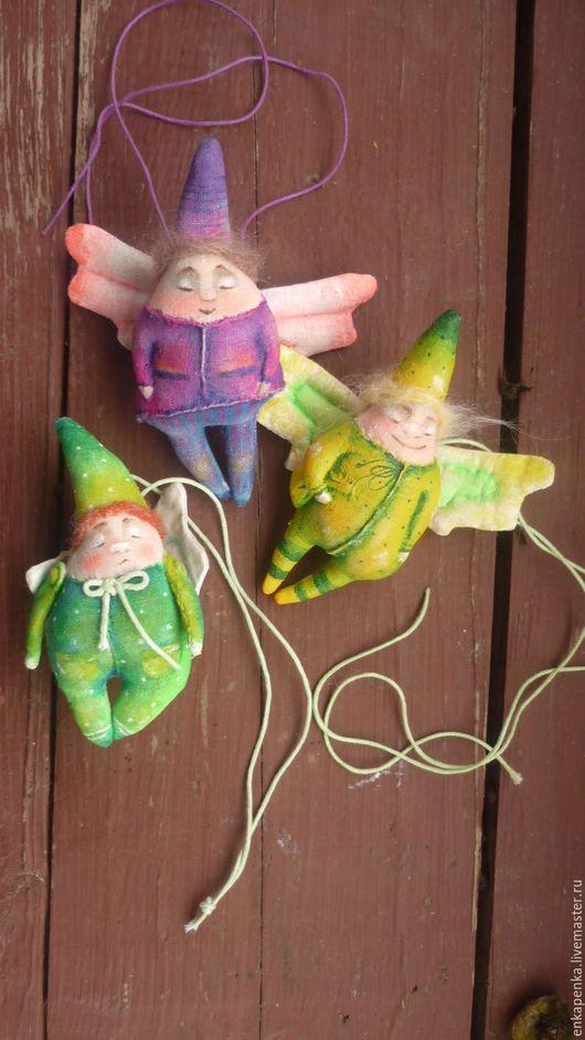 Ароматизированные куклы ручной работы. Ярмарка Мастеров - ручная работа. Купить Хранители. Handmade. Комбинированный, ангел, кофе