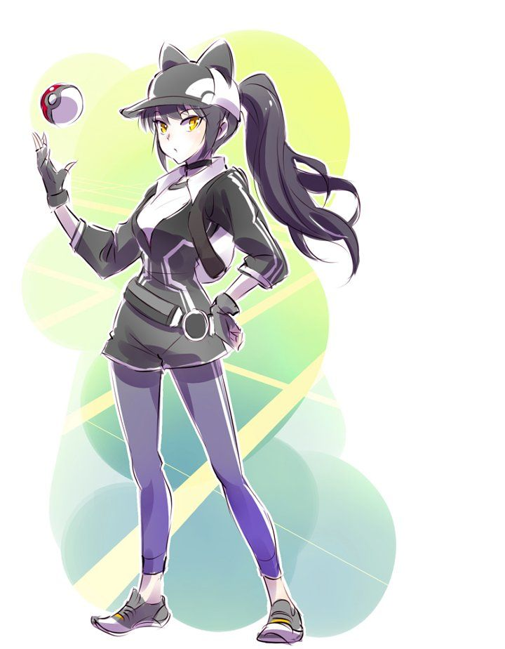 Trainer Blake RWBY Pokemon go