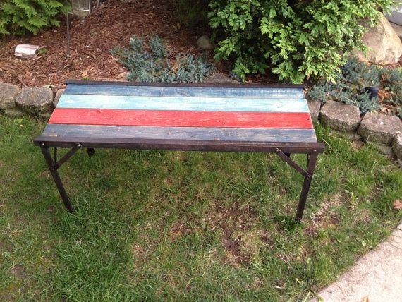 SOLDRustic/Industrial Indoor Outdoor Coffee Table by CenteredLife