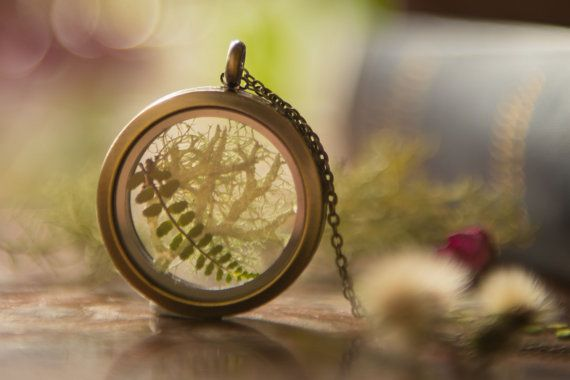 Check out this item in my Etsy shop https://www.etsy.com/ie/listing/466269447/irish-woodland-terrarium-locket-real
