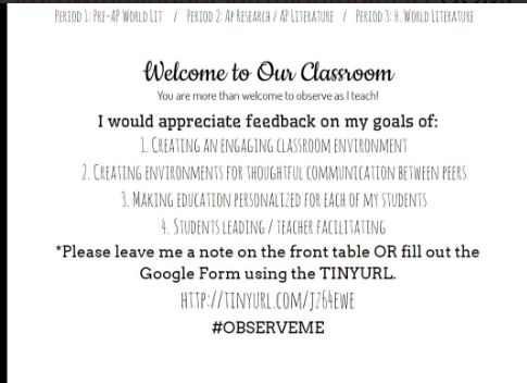 794 best Classroom\/Decor Ideas images on Pinterest Classroom - observation feedback form
