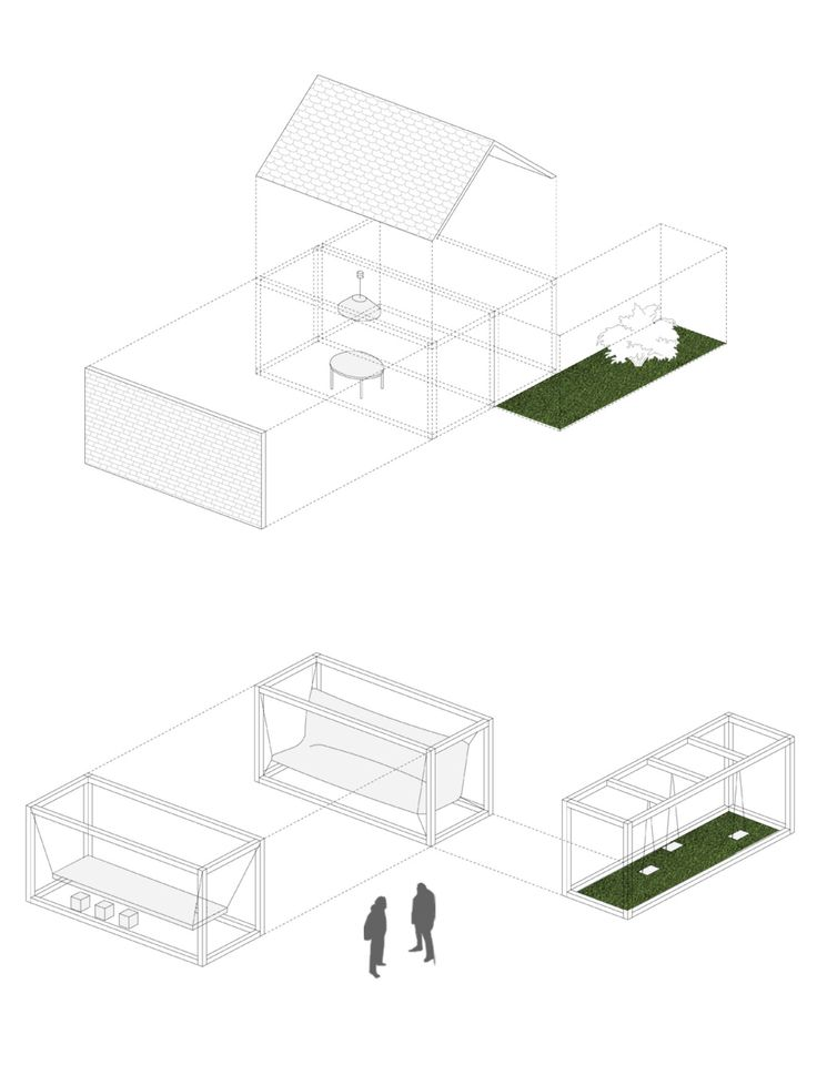 """GDD 2014 / Our main idea was to compare the city to the average house, of the average 30+ year old people, who - beeing the hosts invite their children (5+), and their parents (60+) under their roof. The 30+ zone became a """"opened city home"""", and its different rooms were responding to the every-day needs of the inhabitants. The functions of a main spaces in a house (like dining room, living room, garden), ware placed in the public city space, and fitted with the appropriate, symbol furniture."""