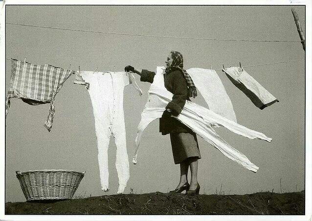 Winter laundry