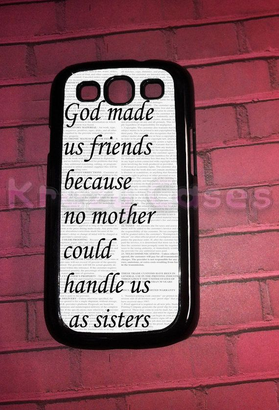 Samsung Galaxy S3 Case Best Friend Samsung Galaxy S3 by KrezyCase, $14.95