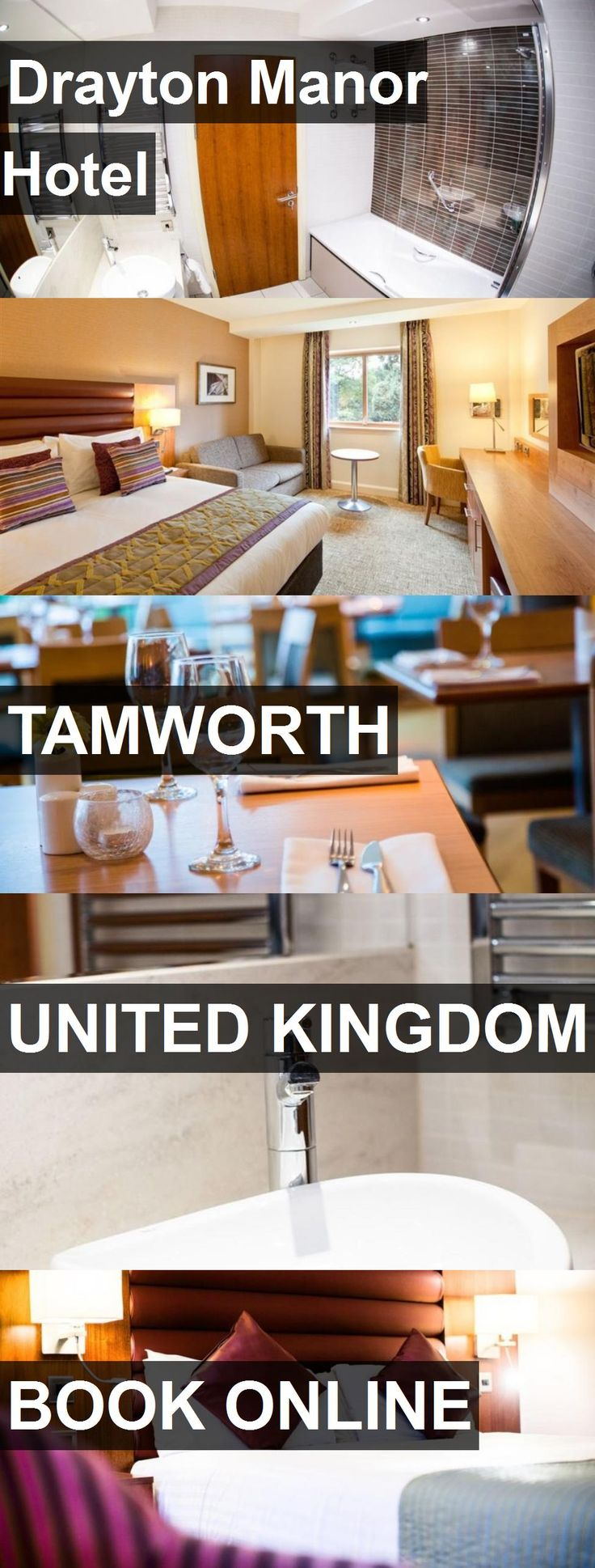 Drayton Manor Hotel in Tamworth, United Kingdom. For more information, photos, reviews and best prices please follow the link. #UnitedKingdom #Tamworth #travel #vacation #hotel