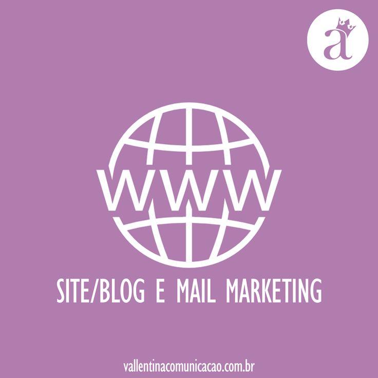 Elaboração de layout, manutenção e redesign de sites ou blogs  Elaboração, distribuição e produção de relatório de Mail Marketing