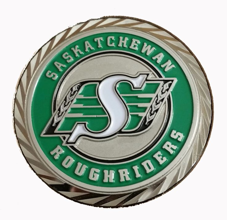 Saskatchewan Roughriders Official Challenge Coin