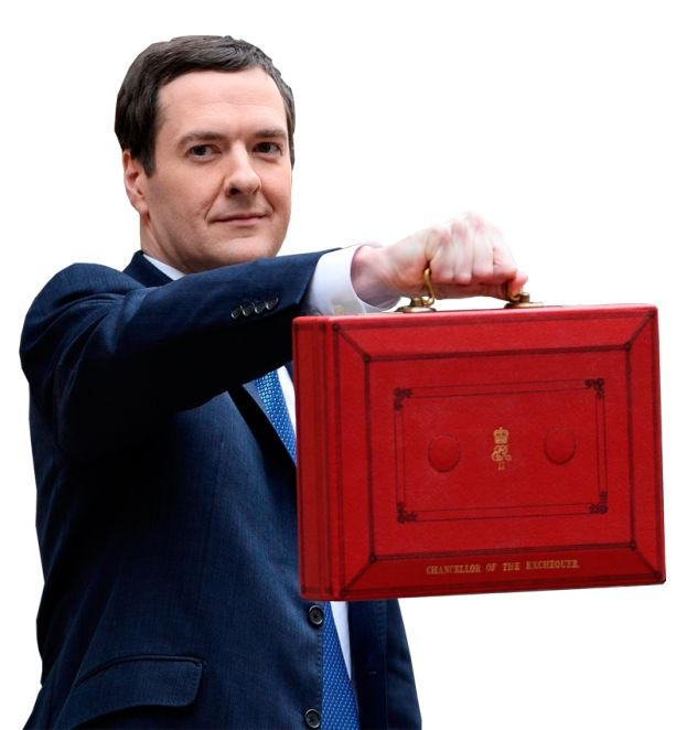 George Osbourne Chancellor of the exchequer transparent image Financial images George Osbourne Chancellor of the exchequer with budget briefcase image