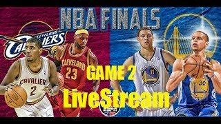 NBA Postgame Studio Live: Cleveland Cavaliers vs GS Warriors Game 2 Nba Finals