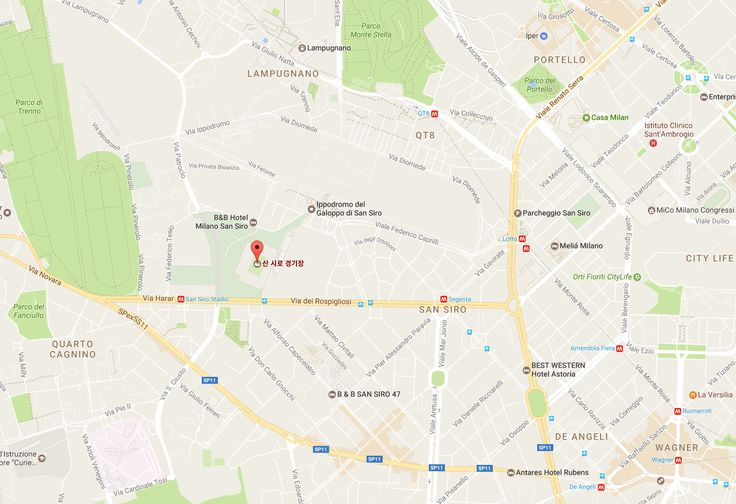 San Siro Stadium(Stadio Giuseppe Meazza), the home of A.C. Milan and Inter Milan.