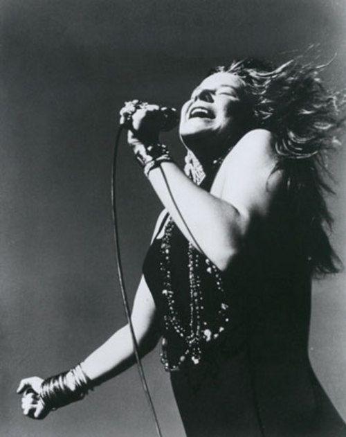 La voz bronca femenina - Janis Joplin