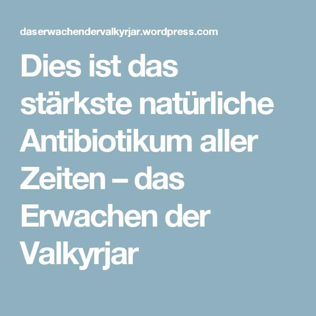 Dies ist das stärkste natürliche Antibiotikum aller Zeiten – das Erwachen der Valkyrjar