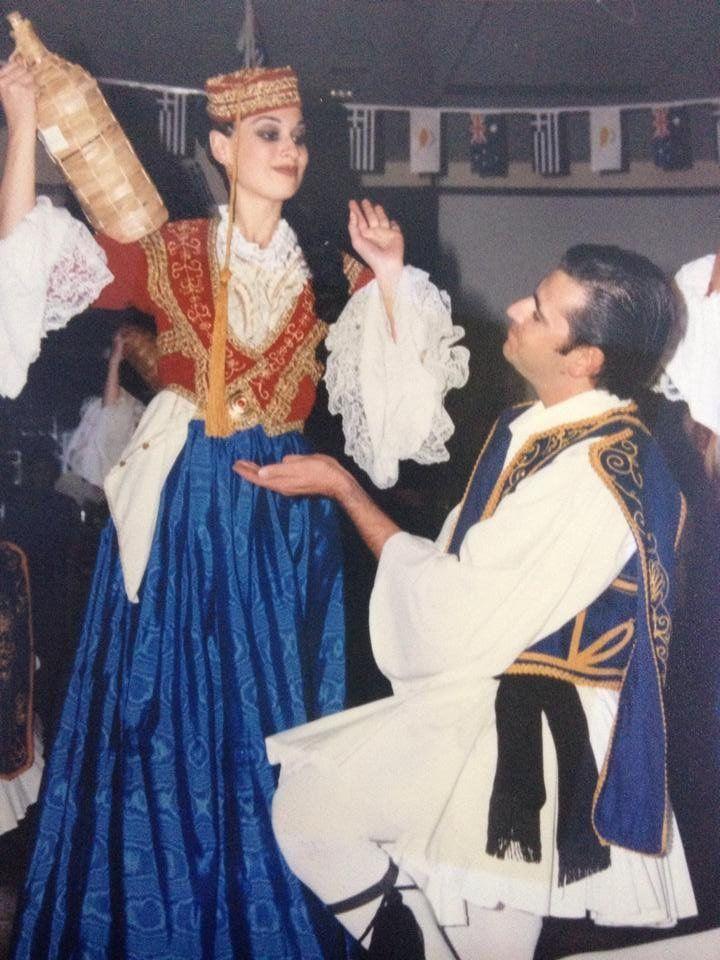 Amalia and Evzones