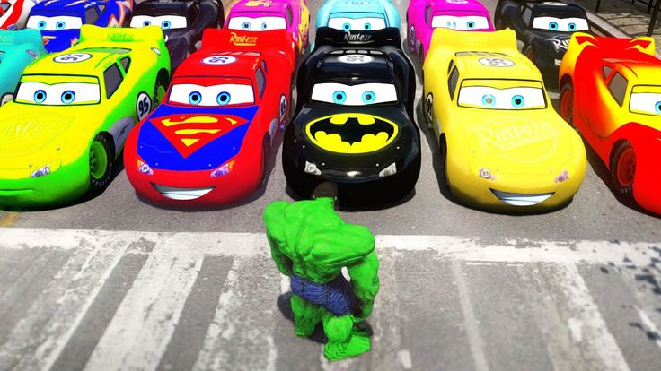 Hulk Esmaga Carros em Português! O Incrível Hulk com Carros Disney Pixar...