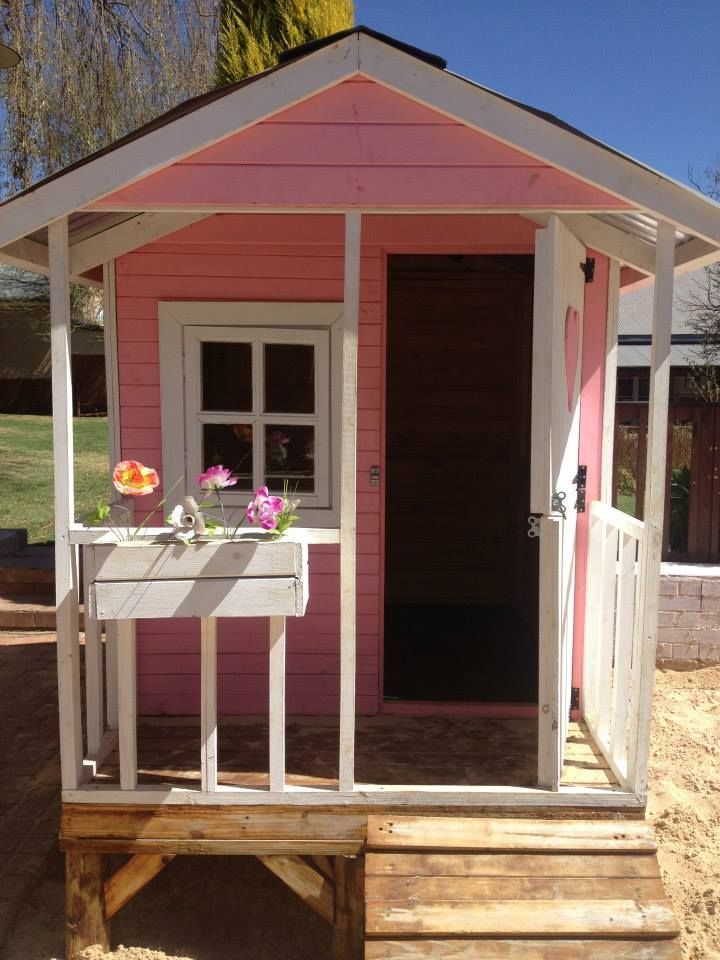 The Isabella's Petite, one-of-a-kind, pink dollhouse.  Our Petite's love playing here!