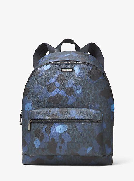 Jet Set Painterly Camo Backpack