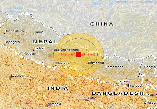 April 25, 2915 Nepal Earthquake Live Updates | Nepal hit by a powerful 7.9 magnitude Earthquake whose tremors were felt across North India.  A powerful earthquake struck Nepal, killing people across a swath of four countries as the violently shaking earth collapsed houses, leveled centuries-old temples and triggered avalanches in the Himalayas. It was the worst temblor to hit the poor South Asian nation in over 80 years.