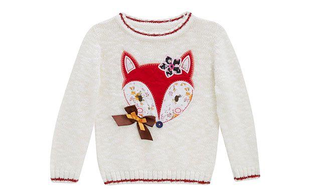 Fantastic Fox Jumper - Children - Tu Clothing At Sainsbury's