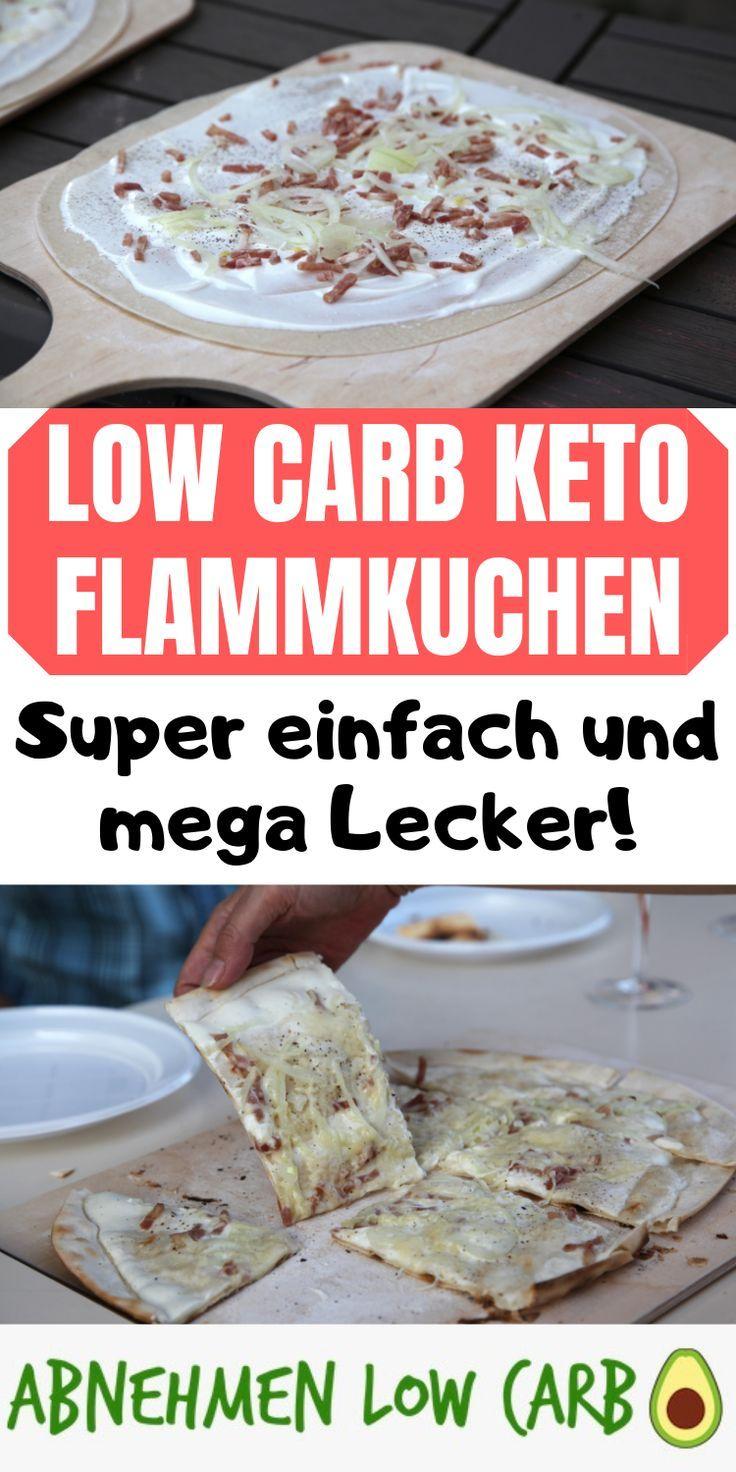 Low Carb Keto Flammkuchen Zum Abnehmen Schnell Einfach Und Lecker