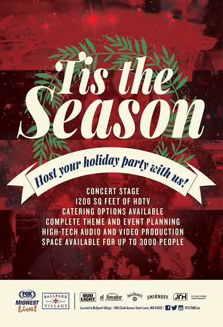 Host your holiday party at Ballpark Village!
