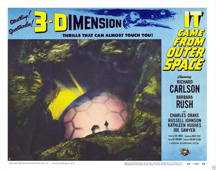 80 best it came from outer space 1953 images on for The thing that came from outer space