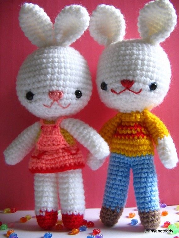 328 best images about Crochet Amigurumi - Bunny on ...