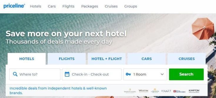 How to book travel on Priceline travel in 2019 Travel