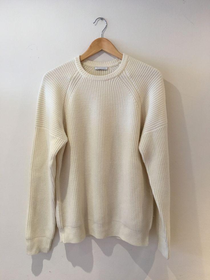 Nicole Farhi Ribbed Merino Sweater