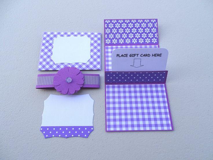 Gift card holder - Gift card pocket - Gift card envelope - Gift voucher holder - Gift voucher pocket - Gift voucher envelope -Money envelope by prettypapernz on Etsy