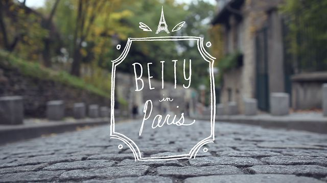 Betty In Paris on Vimeo