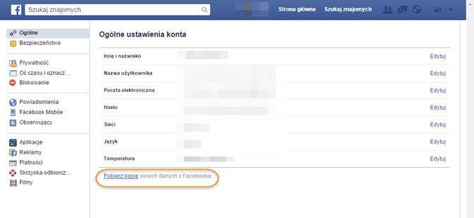 Jak usunąć konto na Facebooku, jak je zdezaktywować, jak pobrać swoje dane z…
