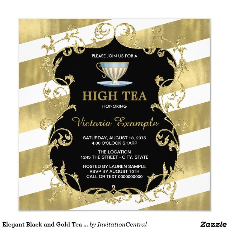 229 best WEDDING BRIDAL SHOWER TEA PARTY Invitations images on - best of invitation party card