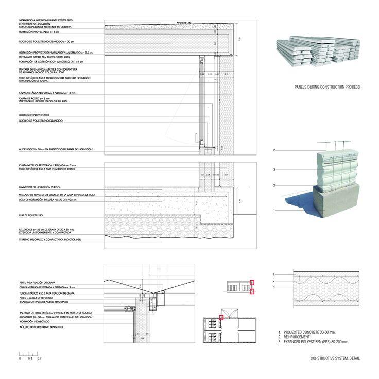 Pabellones De Arbolado / Israel Alba Floor plans