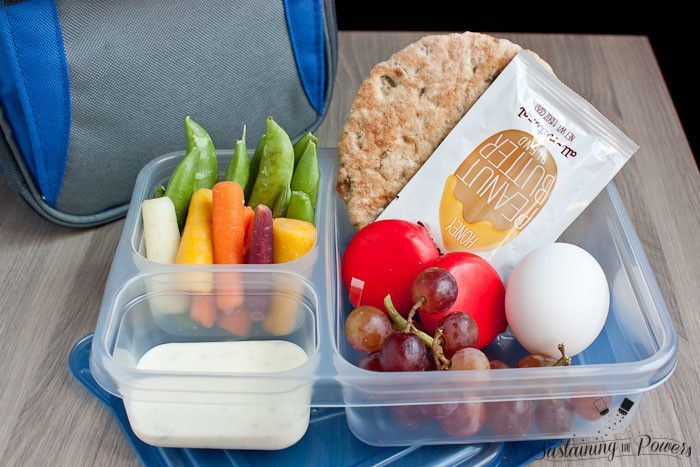 Lunch Box Recipe Challenge: Starbucks Copycat Protein Bistro Box + Meal Plan Monday Week 34 - Sustaining the Powers