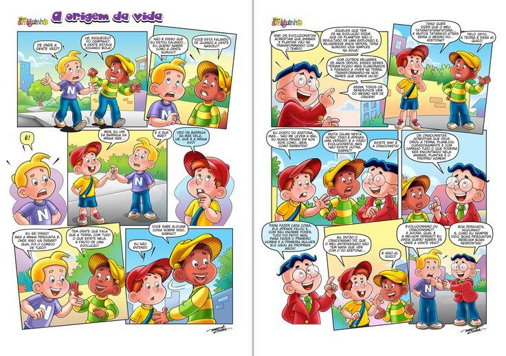 HQ para Revista Nosso Amiguinho - Casa Publicadora Brasileira - Edição Março 2015
