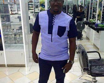 Vêtements africains pour hommes vêtements imprimé par MalvisCo