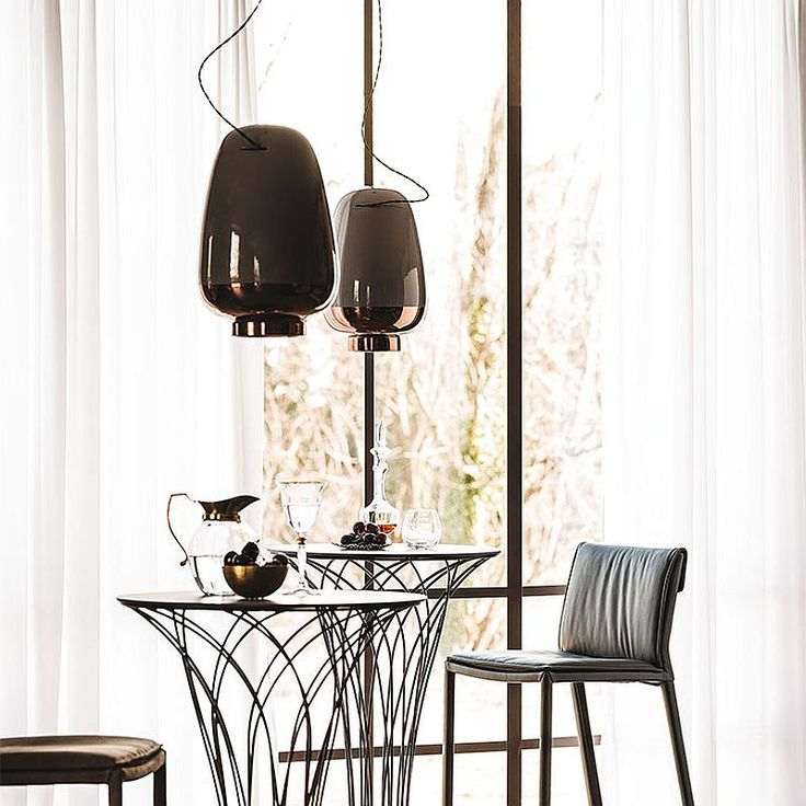 Elegant trio of contemporary pendants deliver textural and geometric contrast modern floor lampsdesign