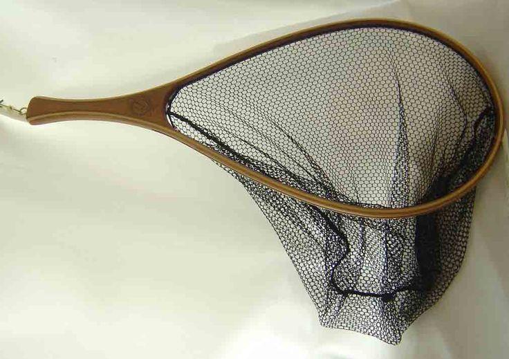 Premium handmade New Zealand Fly fishing net from New Zealand Showcase