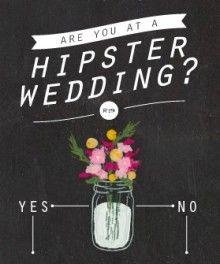 How to know if you're at a hipster wedding-hahahaa sooo many mason jars