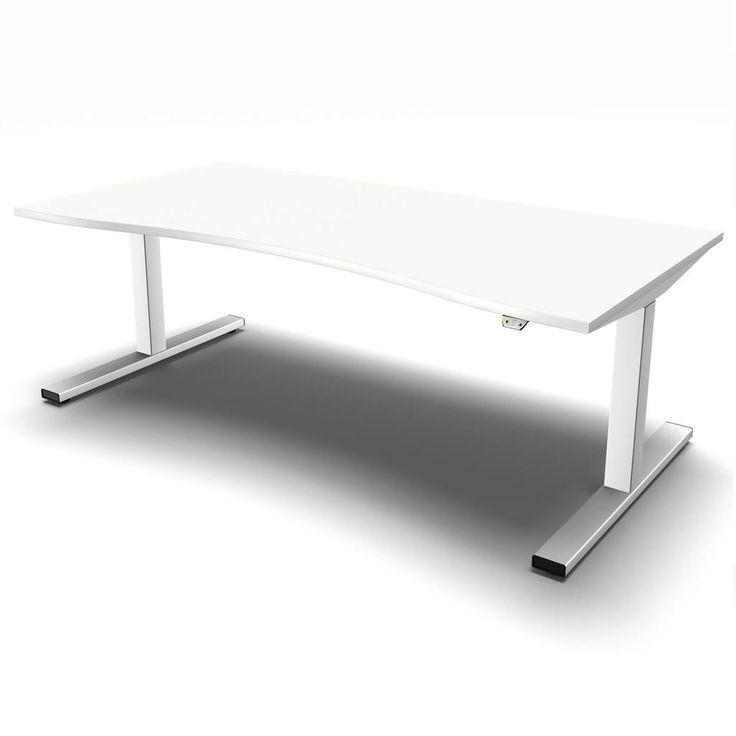 Höhenverstellbarer Schreibtisch eModel Compact-Form