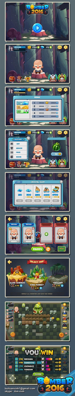 Bomber2016 GUI on Behance: