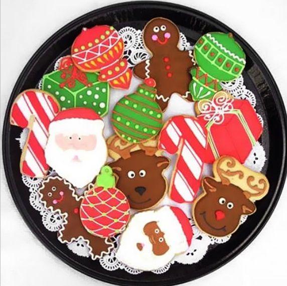 Receta para galletas de Navidad