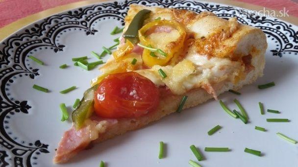 Domáca bryndzová pizza