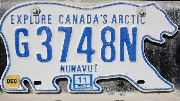 nunavut vehicle registration